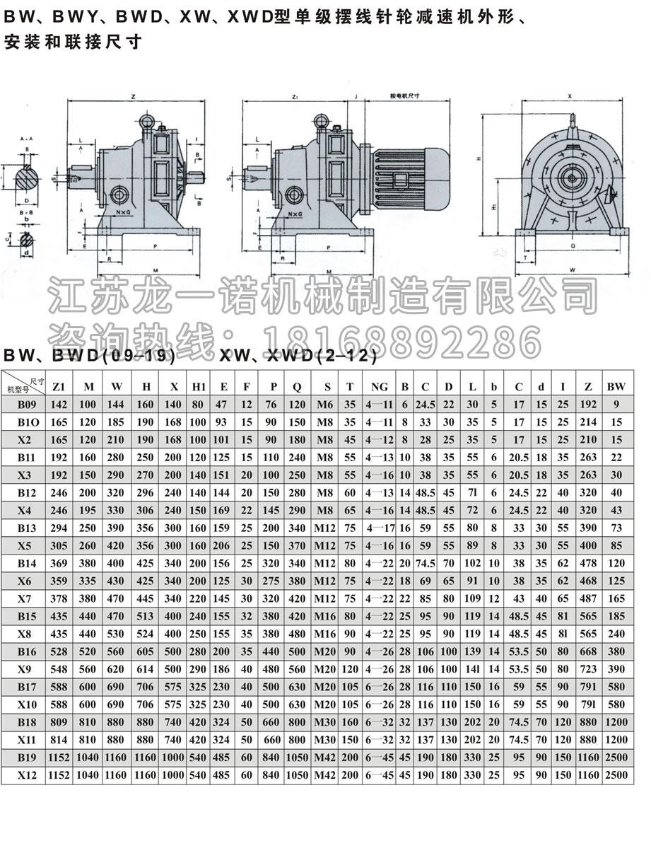 摆线针轮减速机BWD(Y)-6.jpg
