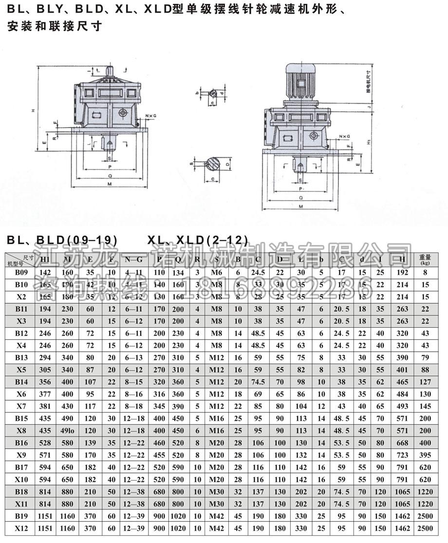 摆线针轮减速机BWD(Y)-4.jpg